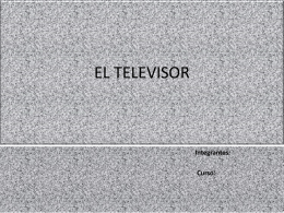 EL TELEVISOR - Historiaboston