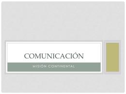 exposición comunicación (ppt)