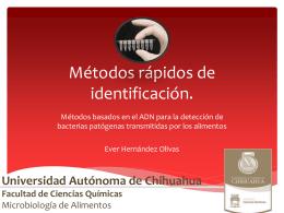 Metodos rapidos de identificacion - FCQ