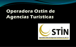 Operadora Ostin de Agencias Turísticas