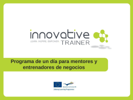 tu PLAN - innovative trainer