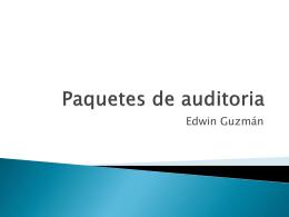 Paquetes de auditoria
