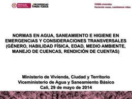 Diapositiva 1 - HumanitarianResponse