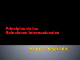 desarrollo presentacion relaciones interpersonales