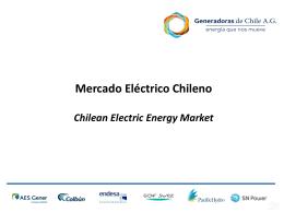 Mercado eléctrico chileno