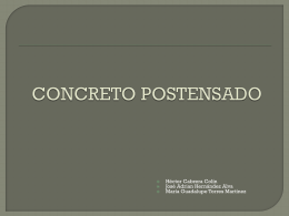 CONCRETO POSTENSADO