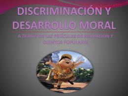 Discriminación y desarrollo moral