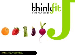 Kantar Worldpanel – PR – Thinkfit FOCUS AR – Nov