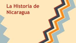 La Historia de Nicaragua