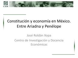 Las reformas constitucionales en curso en México y los problemas