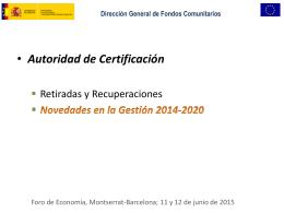 Autoridad de Certificación.