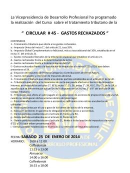 CURSO-CIRC45-PCASTRO - Colegio de Contadores de Chile