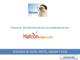 Diapositiva 1 - Halcón Viajes
