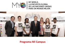Programa Mi Campus