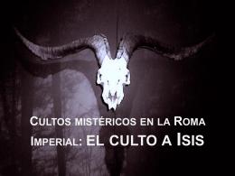 el culto a Isis