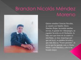 Brandon Nicolás Méndez Moreno
