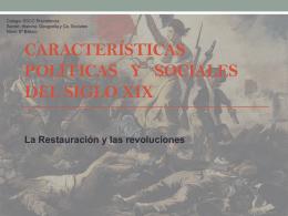 PPTX La Restauración y las revoluciones liberales del siglo XIX