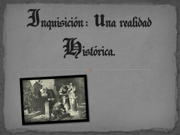 Inquisición - Concurso Día de Castilla y León en clase