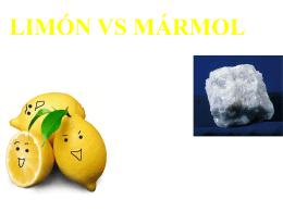 LIMÓN VS MÁRMOL