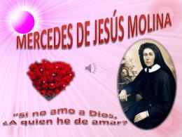 MERCEDES DE JESÚS MOLINA