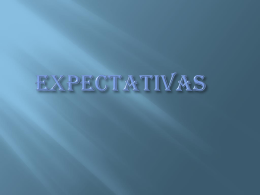Expectativas - WordPress.com