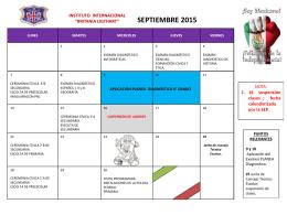 Cronograma de Septiembre 2015 (1)