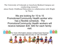 University of Colorado Denver at Anschutz Medical Campus are