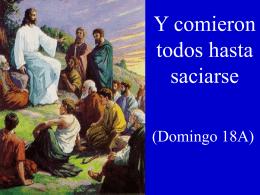 XVIII Domingo del Tiempo Ordinario, Ciclo A. San Mateo 18, 15-20
