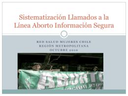 Llamados por ciudad - Linea Aborto Libre