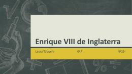 Enrique VIII - 56primariainfantes