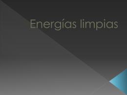 Energías limpias - bitacoraaulashermanas2012