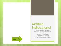 Módulo Instruccional Retraso Mental (Asist Tecn).