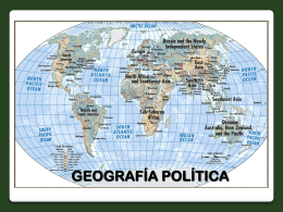GEOGRAFÍA POLÍTICA2k14