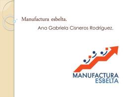 Manufactura esbelta (1)