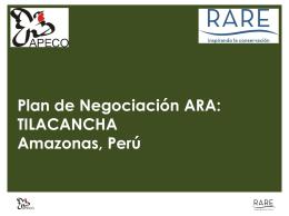 Plan de Negociación ARA