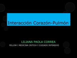 Interacción Corazón-Pulmón