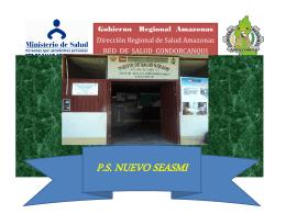 Nuevo Seasmi-Agenda para el cambio