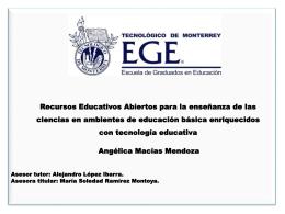 Macias Mendoza - Cátedra de investigación e innovación en
