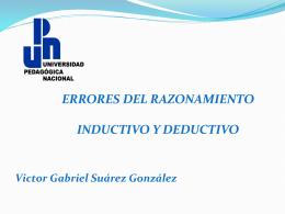 ERRORES DEL RAZONAMIENTO INDUCTIVO Y - upn-243