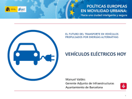 Vehículos eléctricos hoy