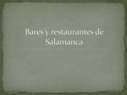 Bares y restaurantes: Manuel e Iván