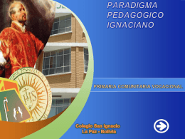 Colegio San Ignacio, La Paz, Bolivia