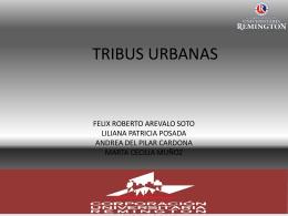 cultura urbanas. diapositivas