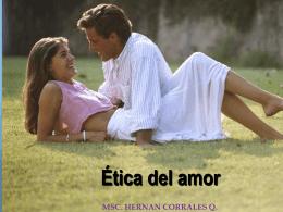 Ética del amor - WordPress.com