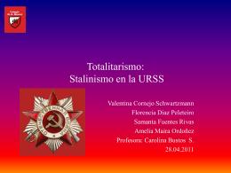Totalitarismo trabajo historia