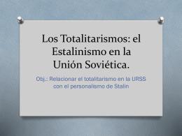 estalinismo soviético