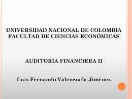 Presentación 2 - Facultad de Ciencias Económicas