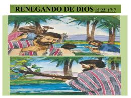 RENEGANDO DE DIOS