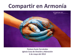 Compartir en Armonia..