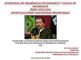 ESTRATEGIA DE DESARROLLO ECONOMICO Y SOCIAL DE